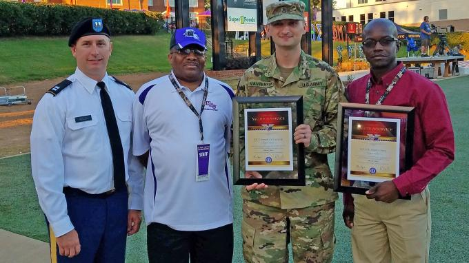 Military Honorees for Sept. 30