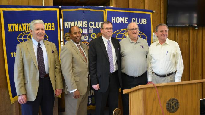 Purcell at Kiwanis